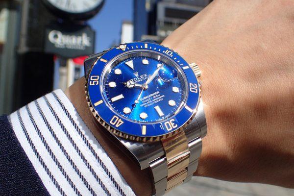 青空と太陽の似合う新型青サブ Ref.126613LB