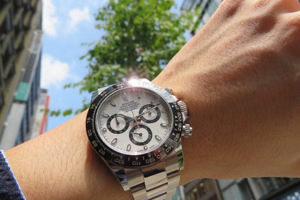 Ref.116500LN白と爽やかな夏を迎えよう!