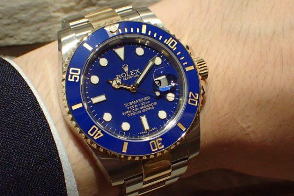 旧型の青サブRef.116613LB